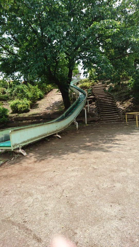 すべり台上野町公園八王子市遊具