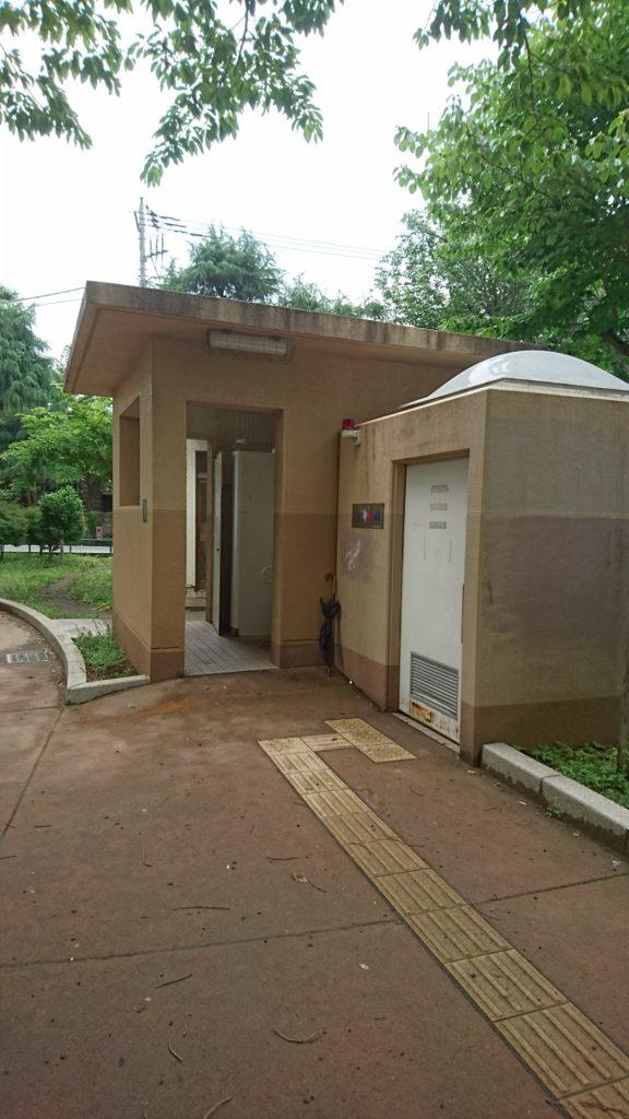 子安公園八王子市トイレ