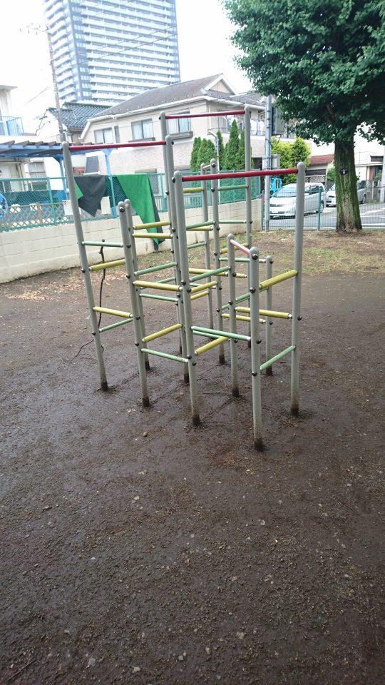 ジャングルジム子安公園八王子市遊具