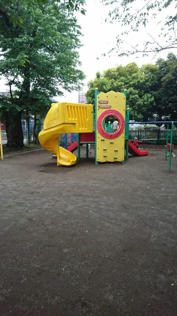 アスレチック子安公園八王子市遊具