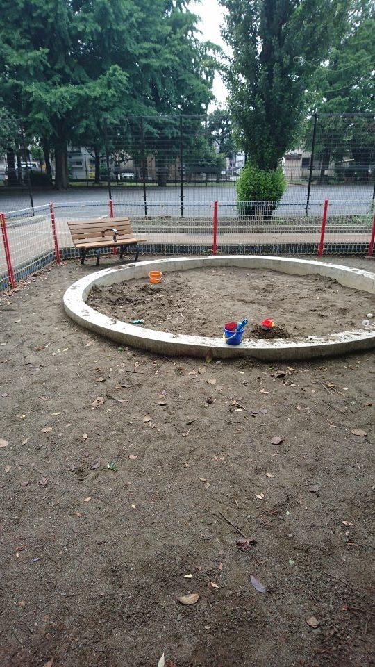 砂場子安公園八王子市遊具