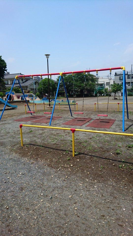 ブランコ小門公園八王子市遊具