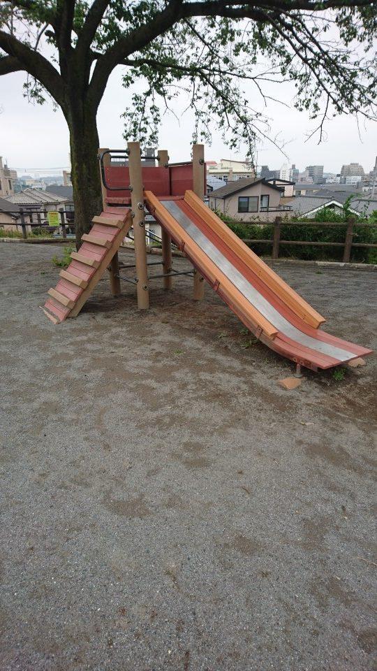 滑り台台町見晴公園八王子市遊具
