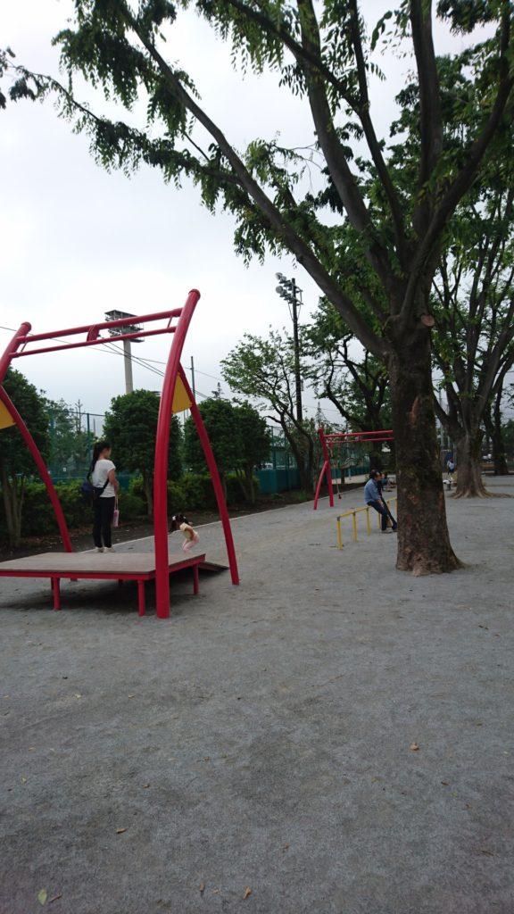 富士森公園八王子市遊具