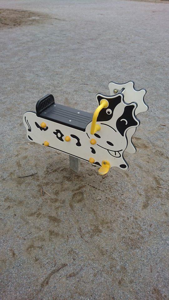 牛の乗り物富士森公園八王子市遊具