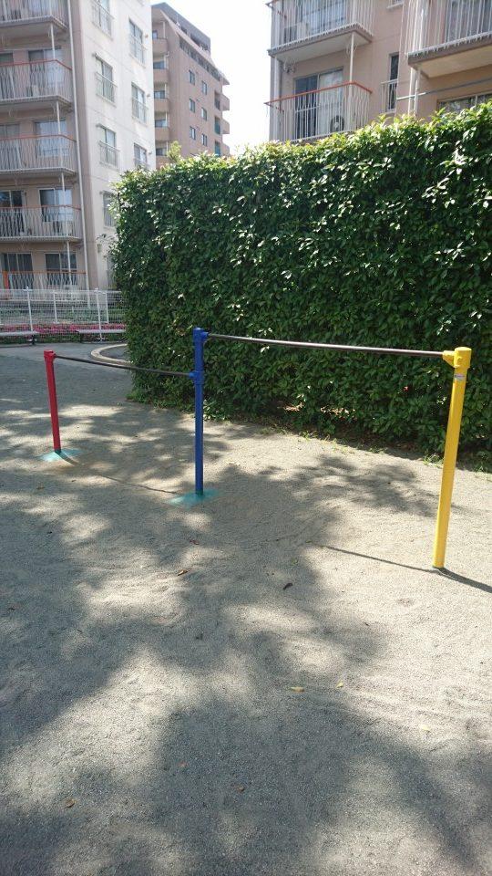 鉄棒西八王子ハイツの公園八王子市遊具