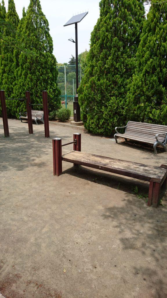 腹筋マシーン陵南公園八王子市遊具