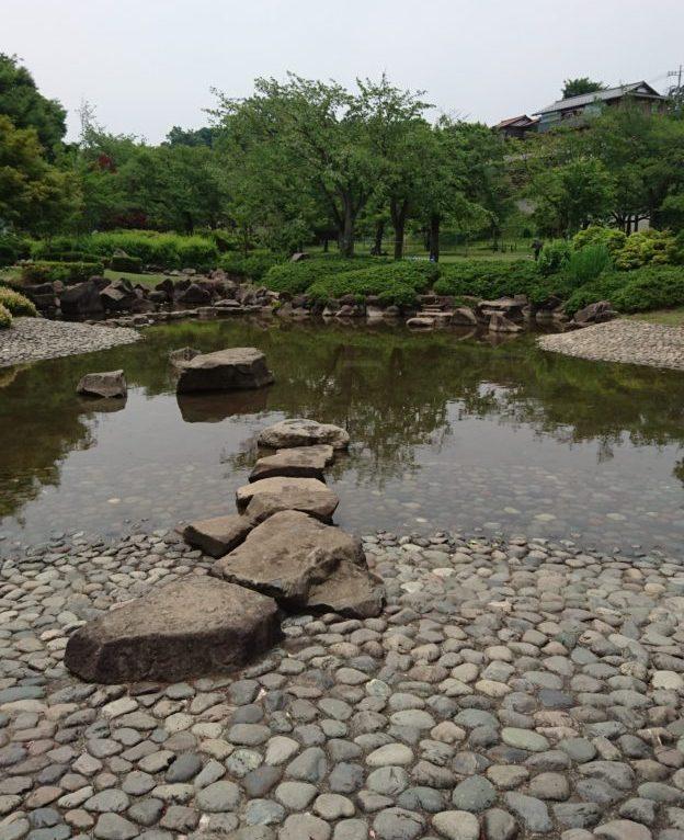 陵南公園 じゃぶじゃぶ池