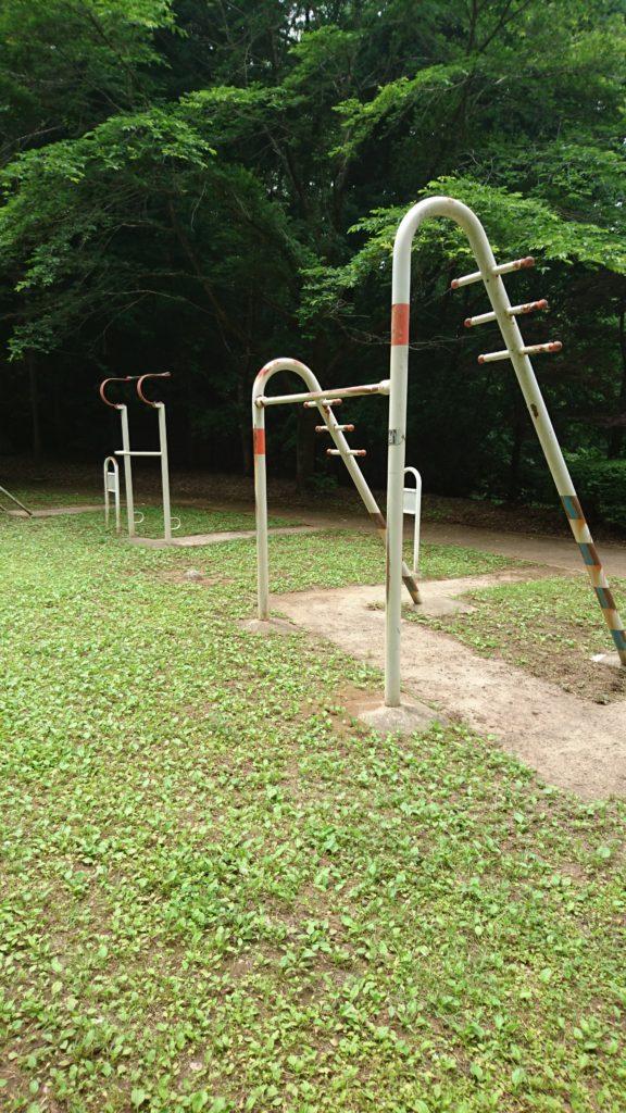 健康遊具陵東公園八王子市