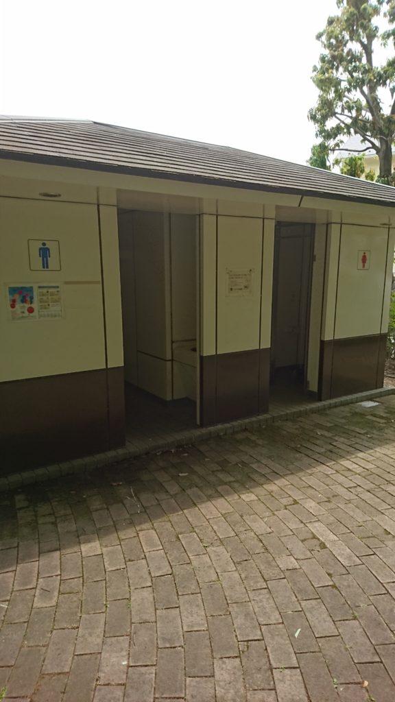 トイレ出羽山公園八王子市