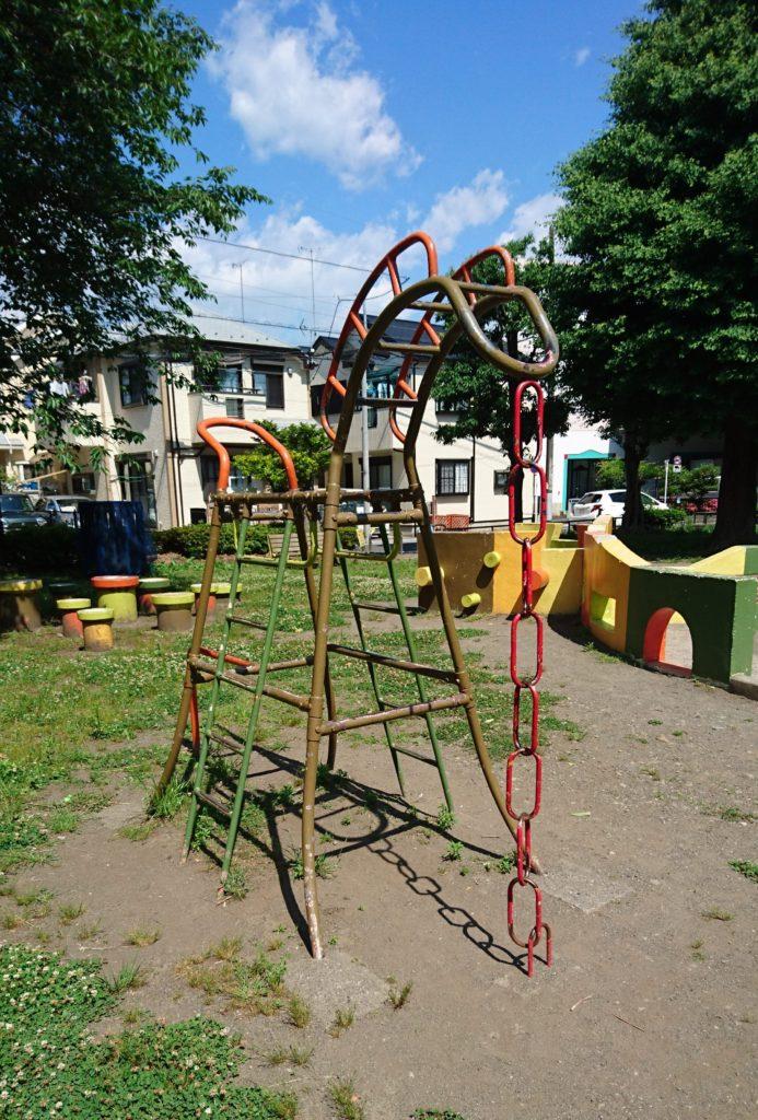 馬の遊具東平岡公園八王子市遊具