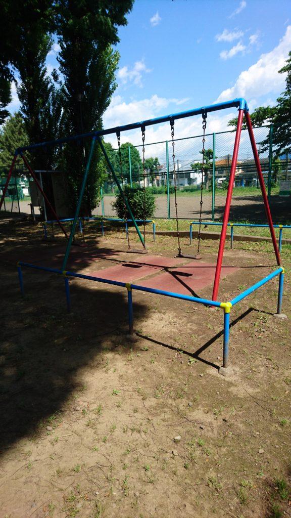 ブランコ中野町公園八王子市遊具