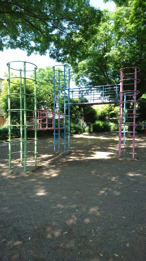ジャングルジム中野町公園八王子市遊具