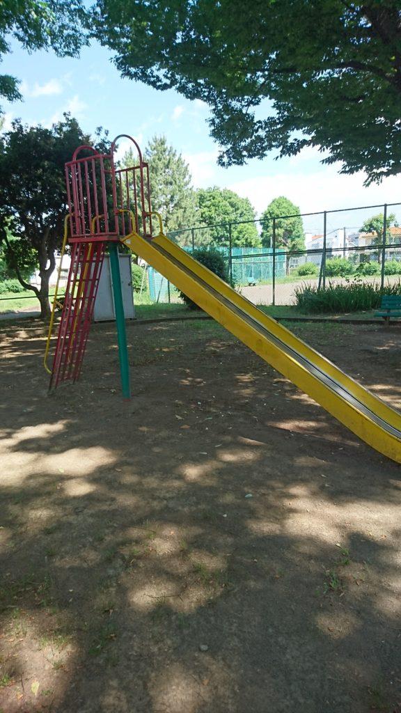 すべり台中野町公園八王子市遊具