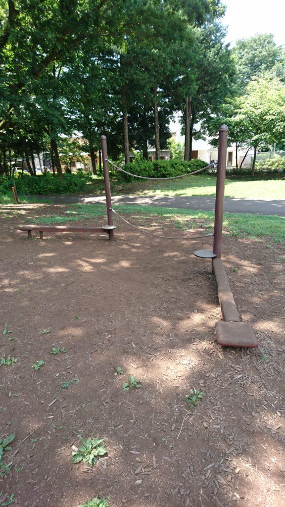 綱渡り小宮公園八王子市遊具