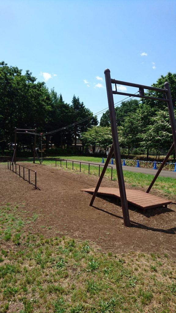 ロープウェイ小宮公園八王子市遊具