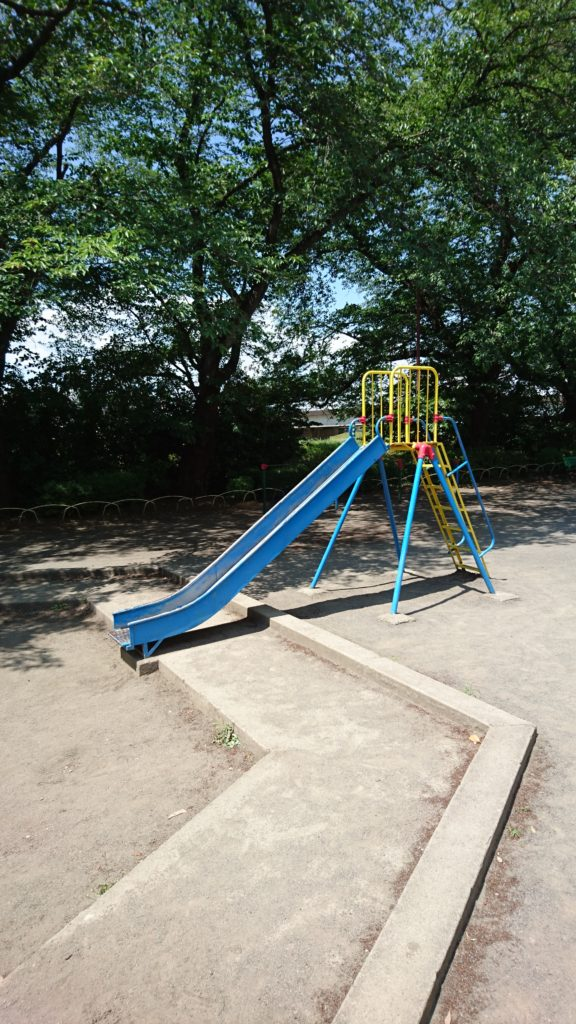 すべり台元横山公園八王子市遊具
