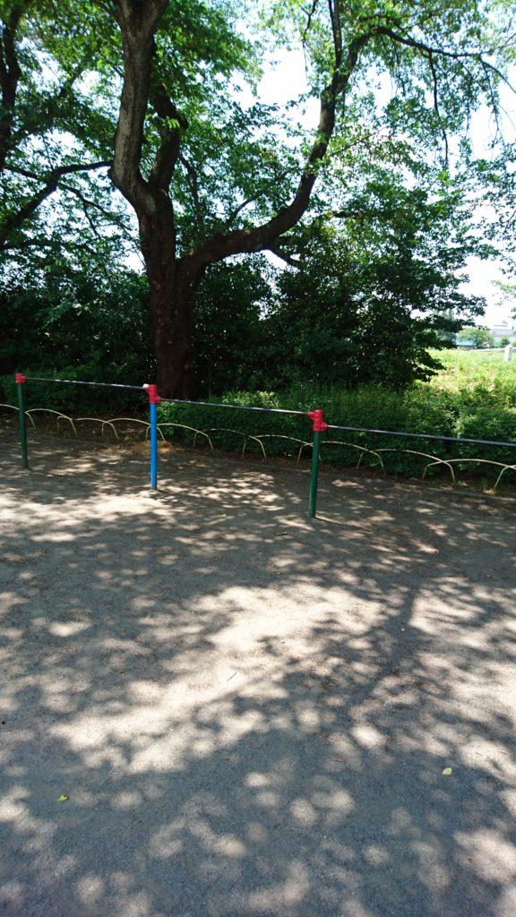 鉄棒元横山公園八王子市遊具