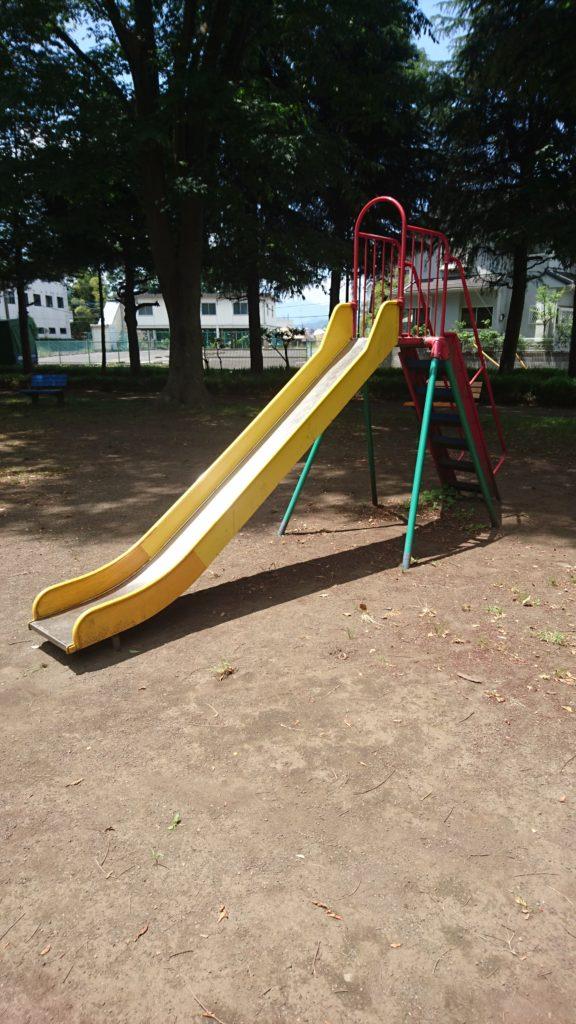 すべり台北大和田公園八王子市遊具