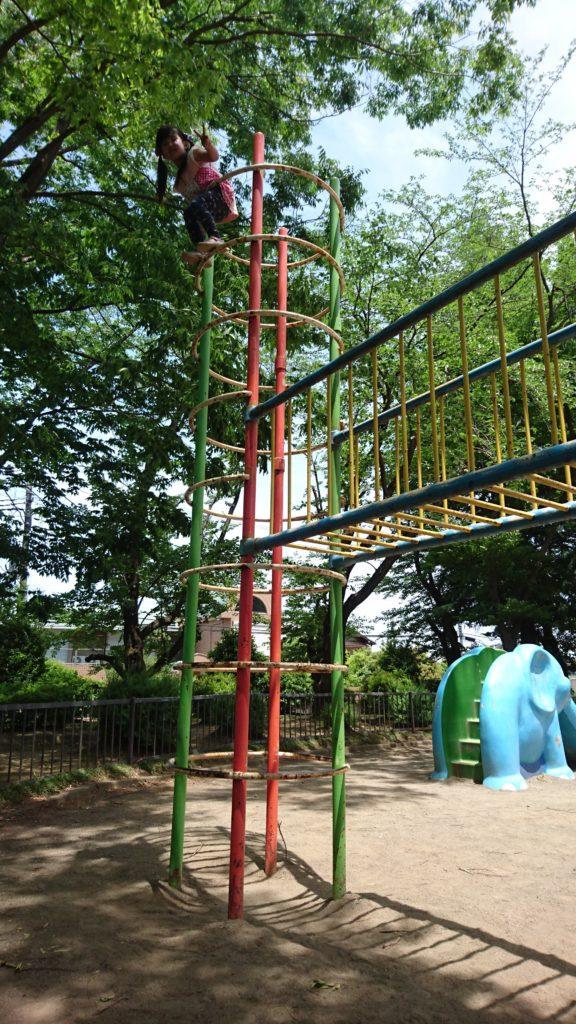 アスレチックめじろ台南公園八王子市遊具