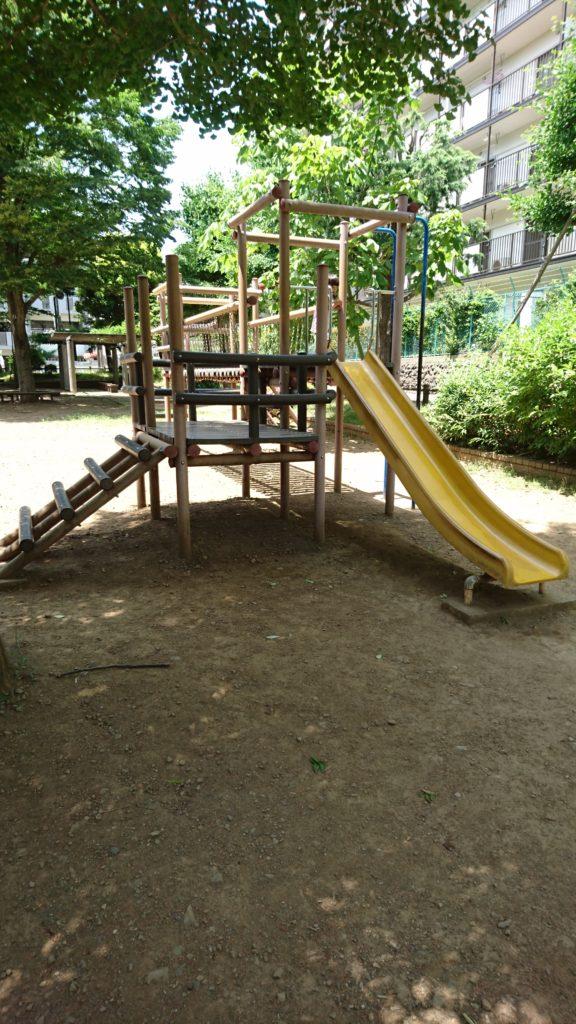 アスレチック椚田公園八王子市遊具