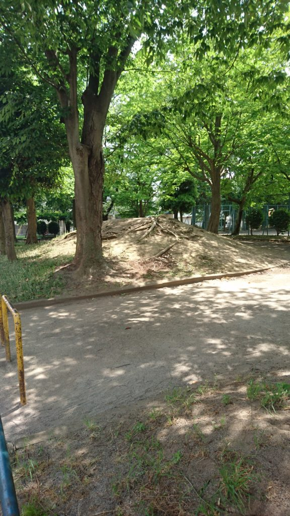 山岸田公園八王子市
