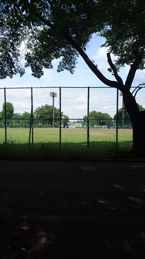 野球グラウンド北野公園八王子市