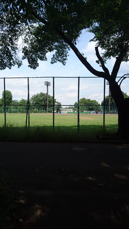 北野公園 野球グラウンド