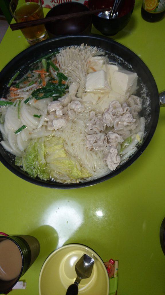 湯豆腐鍋(肉入り)