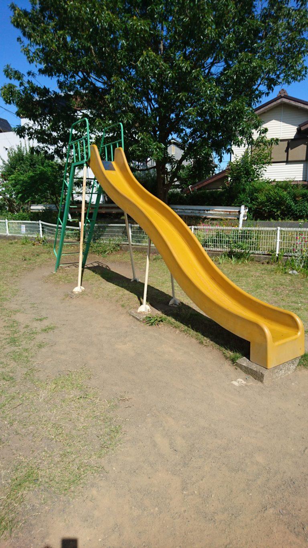 水無瀬児童遊園 すべり台