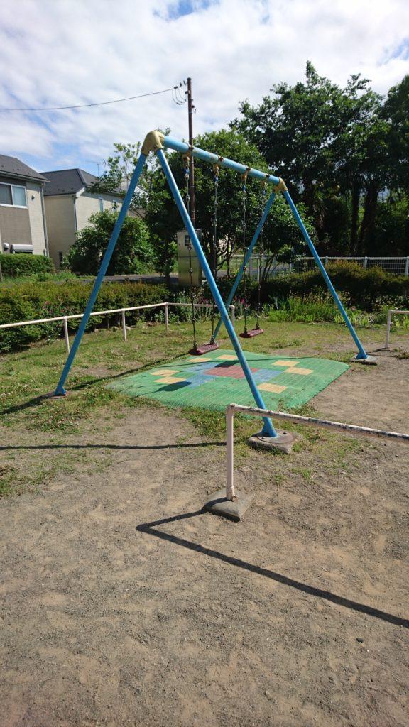 ブランコ水無瀬児童遊園八王子市遊具