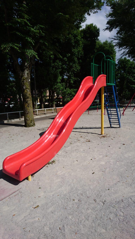もみじ公園 すべり台
