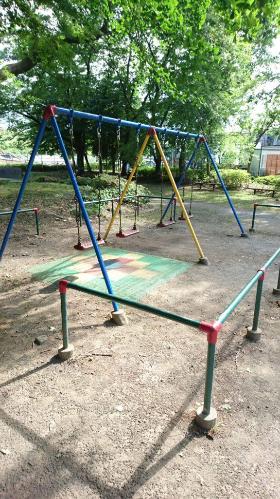ブランコ横川下原公園八王子市遊具