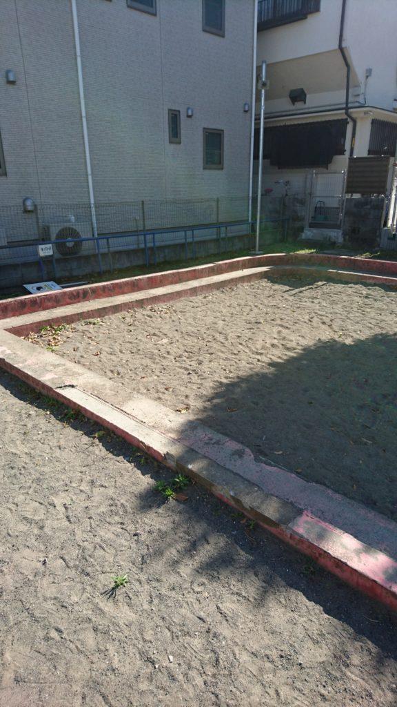 元本郷南公園 砂場