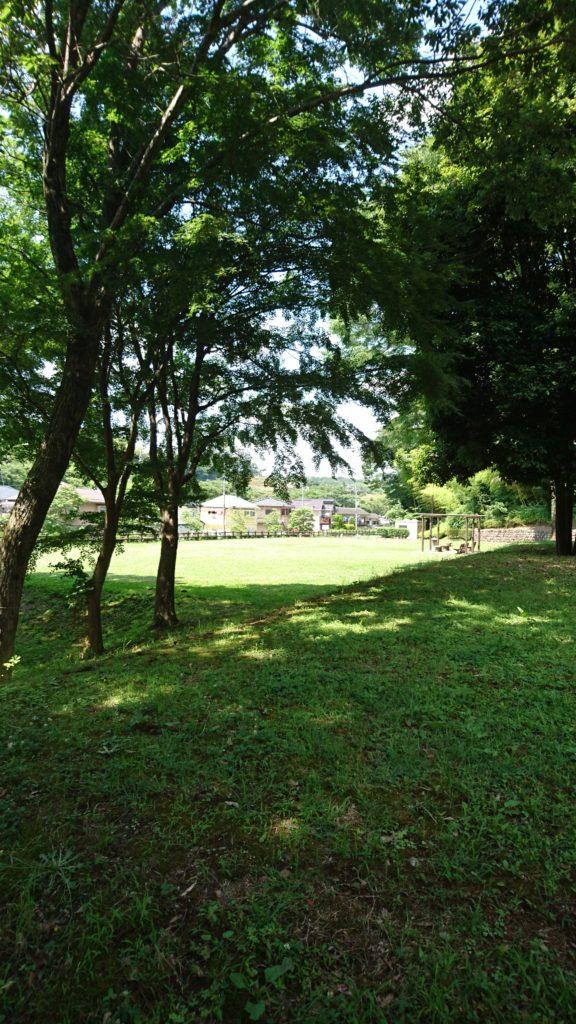 上柚木公園 広場 八王子市