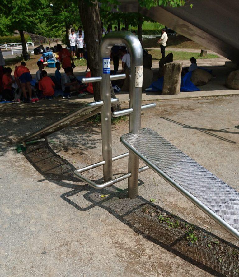 上柚木公園 トレーニング器具