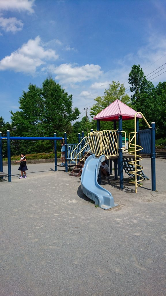 上柚木公園 アスレチック