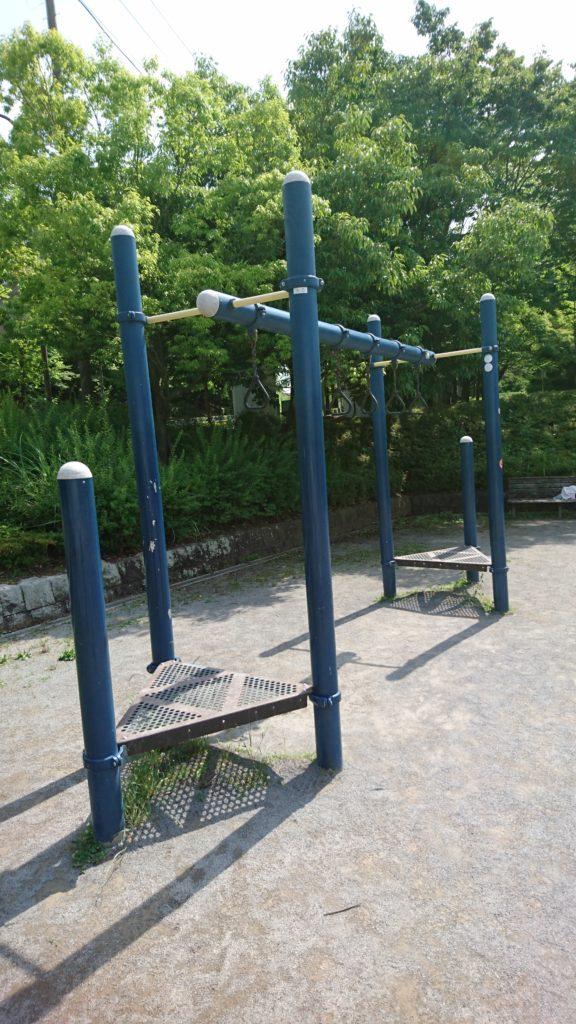 上柚木公園 うんてい