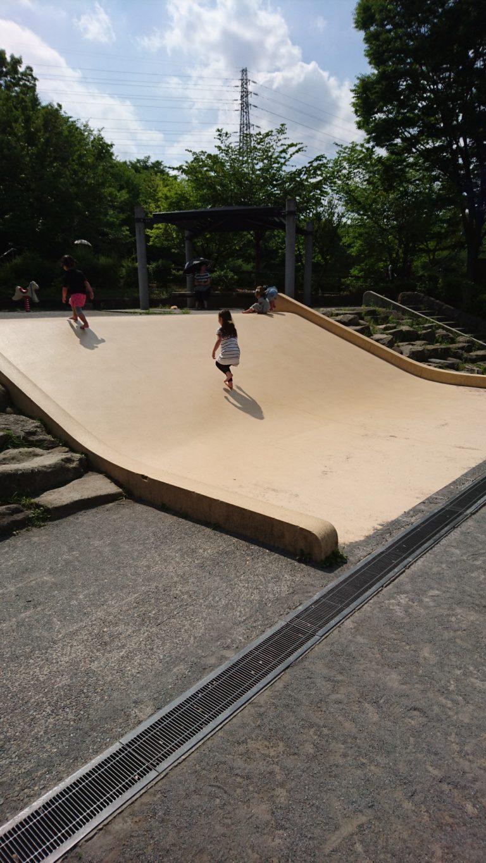 上柚木公園 すべり台