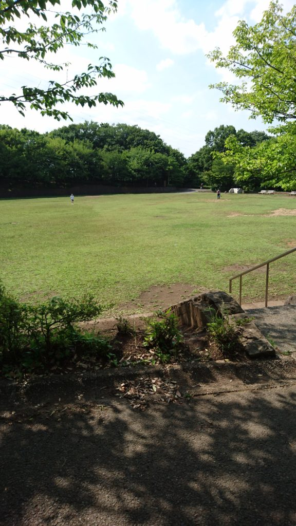 上柚木公園 グラウンド