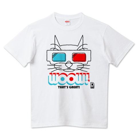 Rocka:3Dメガネ猫