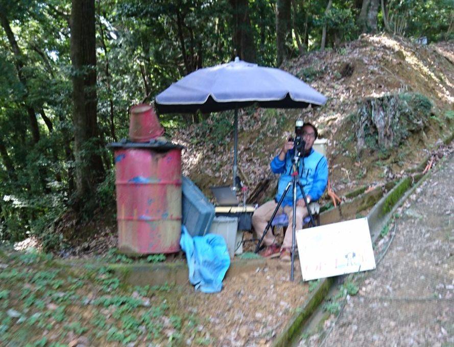 高尾山リフト撮影サービス