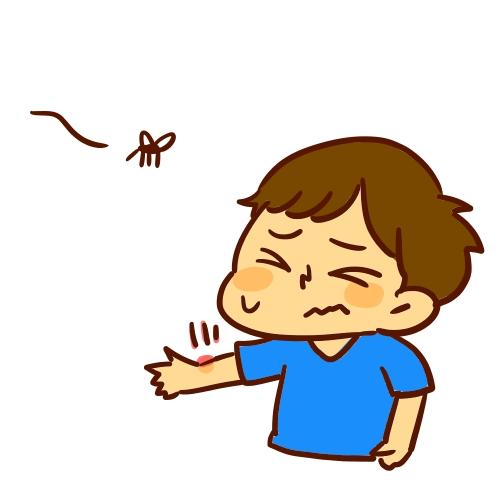 蚊に刺され
