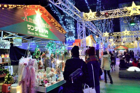 さいたま新都心けやきひろばクリスマスマーケット