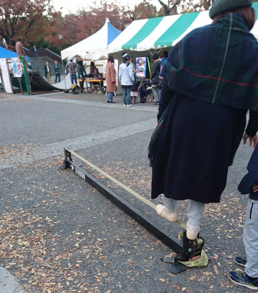 東京雪祭SNOWBANK:SLACK LINE