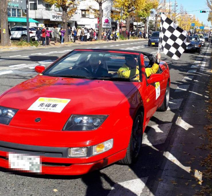 クラシックカーパレードin八王子いちょう祭り2017