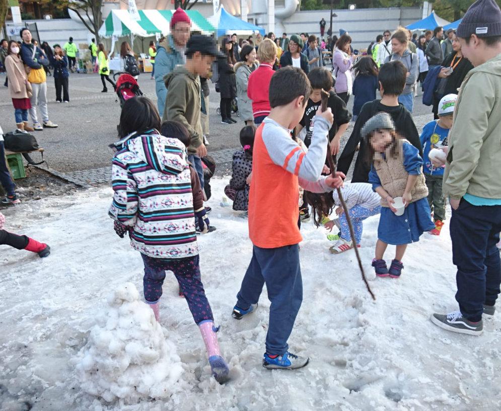東京雪祭SNOWBANK 人口雪