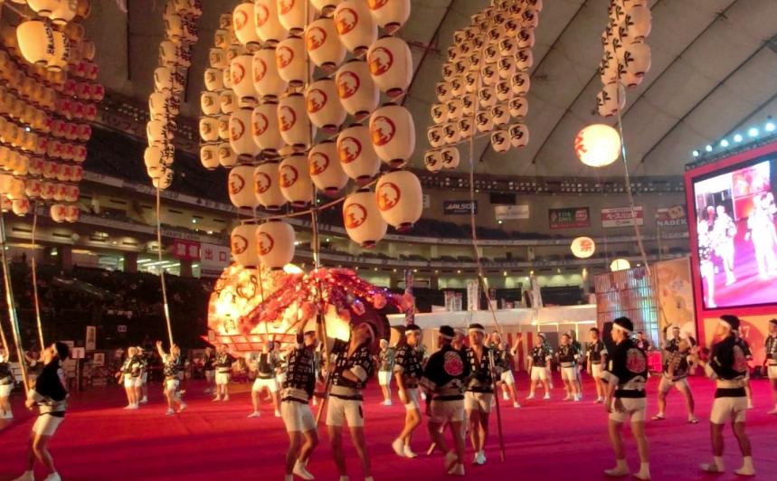 秋田竿灯祭りふるさと祭り2018