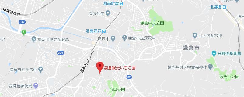 鎌倉観光いちご園のイチゴ狩り