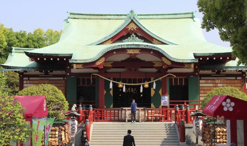 亀戸天神社初詣2018